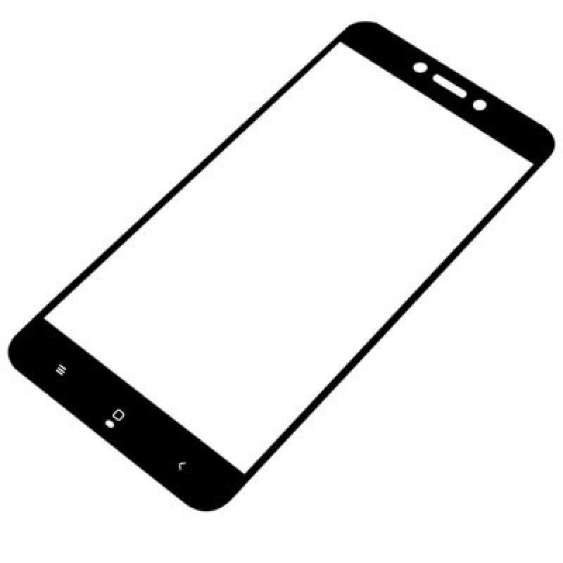 Защитное стекло 2.5D Black для Xiaomi Mi A1