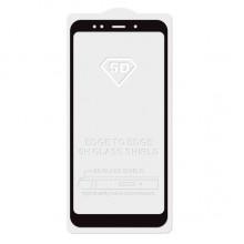 Защитное стекло 5D black для Xiaomi redmi note 5