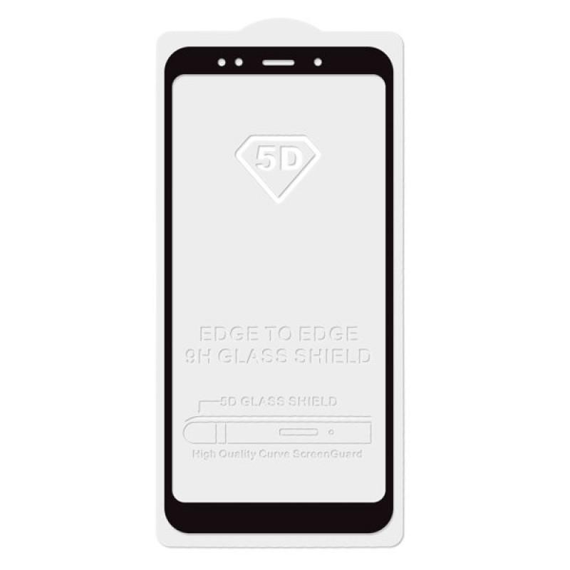 Защитное стекло 5D Black для Xiaomi redmi 6A