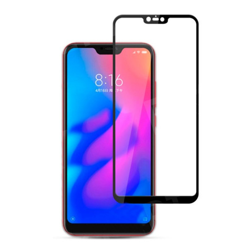 Защитное стекло 5D Black для Xiaomi redmi note 6 Pro