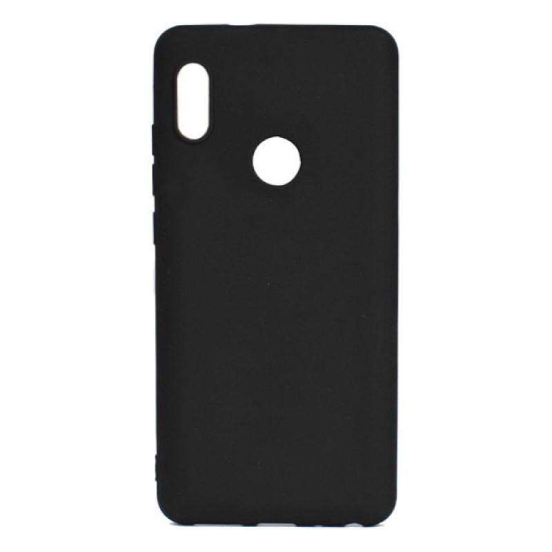 """Силиконовый чехол """"ТПУ"""" черный для Xiaomi Mi A2"""