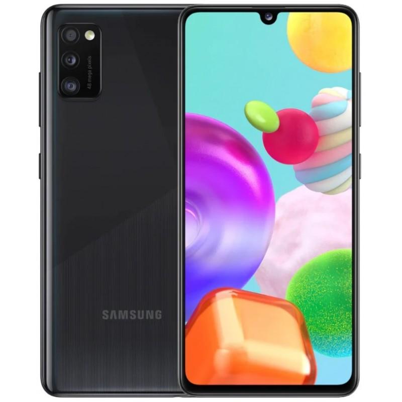 Samsung  Galaxy A41 4/64Gb Black (Черный) RU