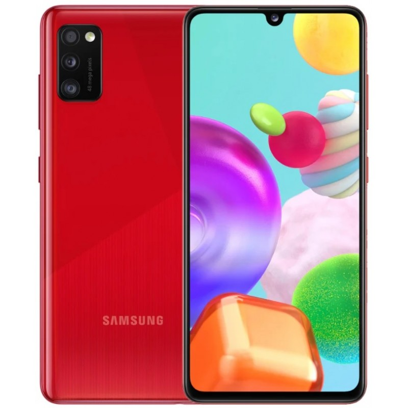 Samsung  Galaxy A41 4/64Gb Red (Красный) RU