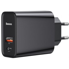 Блок зарядного устройства Baseus Speed PPS Quick Charger Type C (Black) CCFS-C01