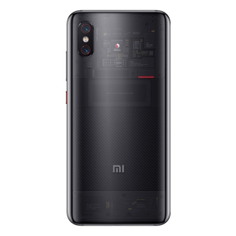 Xiaomi Mi8 Pro 8/128Gb Transperent Black (Черный) EU - Global Version