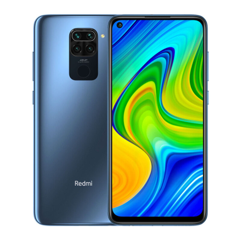Xiaomi Redmi Note 9 4/128Gb Midnight Grey (Серый) Global Version (без NFC)