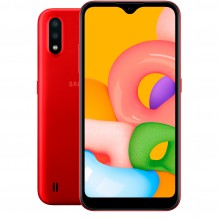 Samsung  Galaxy A01 (SM-A015F) 16Gb Red (Красный) RU