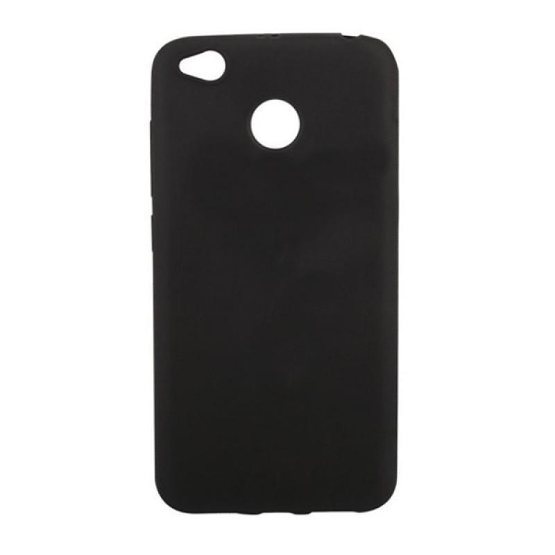 Силиконовый чехол (ТПУ) черный для Xiaomi redmi 4x