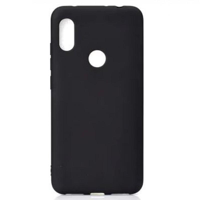 Силиконовый чехол (ТПУ) Черный для Xiaomi redmi note 6 Pro