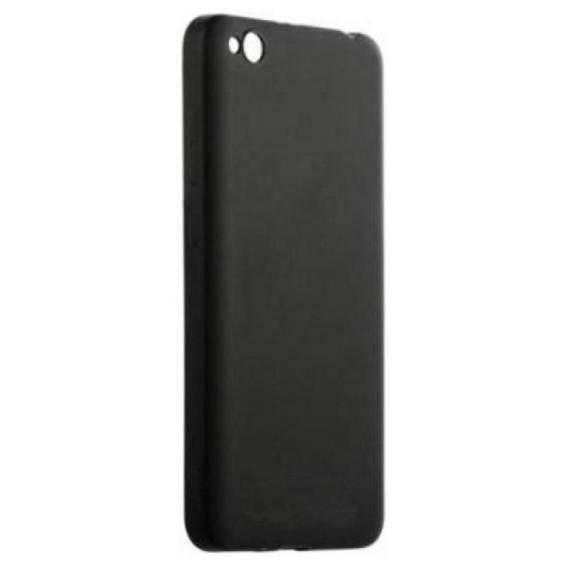 Силиконовый чехол (ТПУ) Черный для Xiaomi redmi 4a