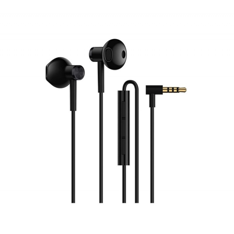 Наушники Xiaomi Dual-Unit Half-Ear Black
