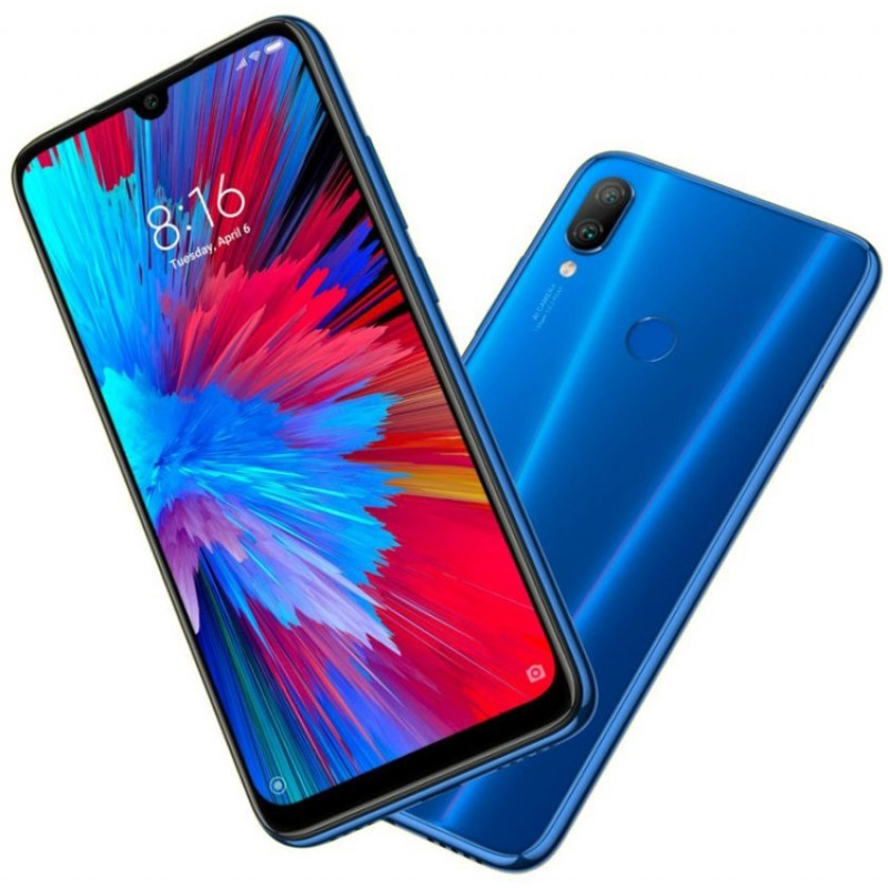 Xiaomi Redmi Note 7 4/64GB Neptune Blue (Синий)