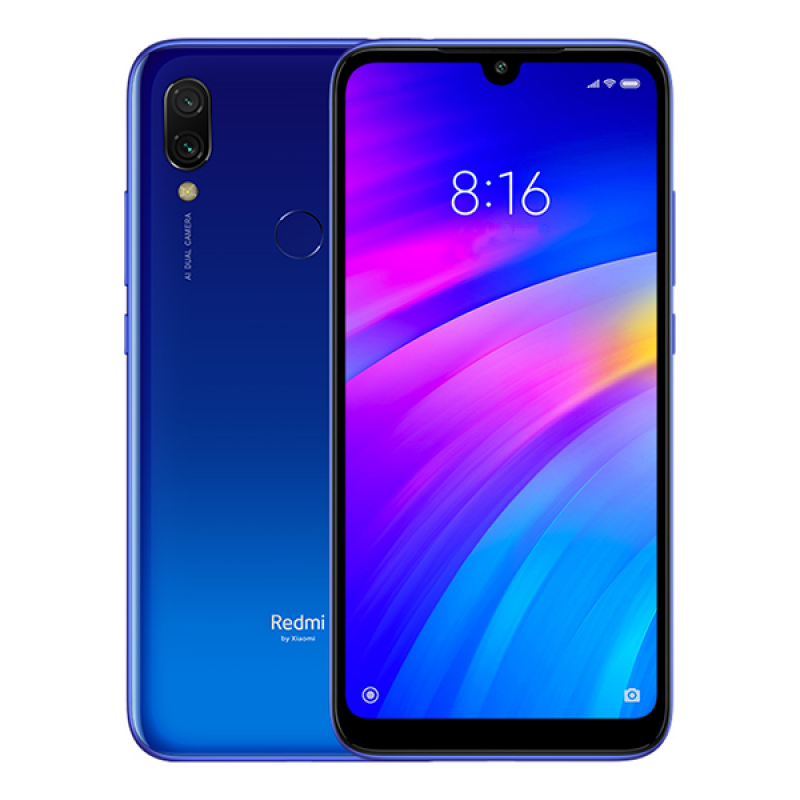 Xiaomi Redmi 7 3/64Gb Blue (Синий) Global Version